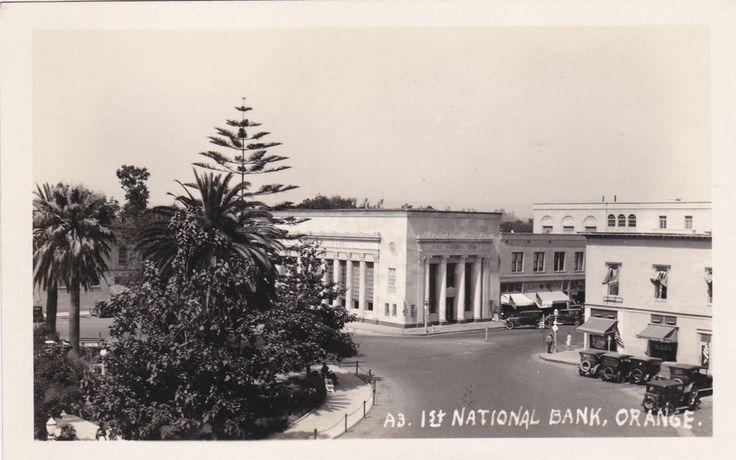 RP: 1st National Bank, ORANGE , California, 10-20s