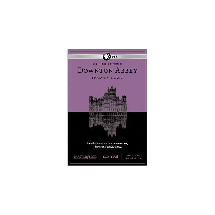 Masterpiece: Downton Abbey - Seasons 1-3 [9 Discs]
