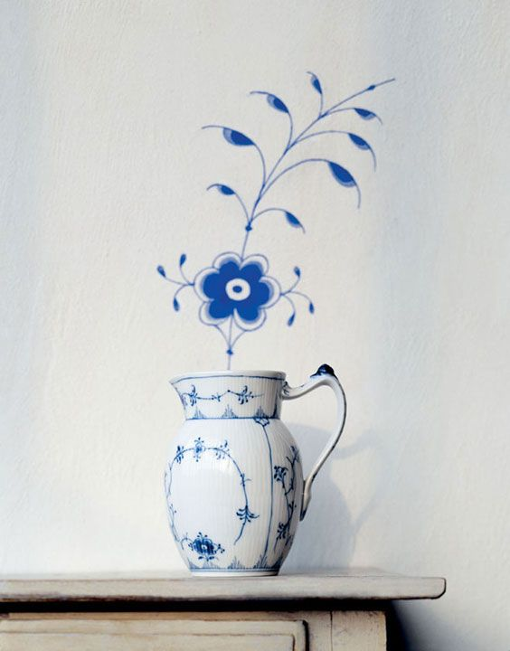 Royal Copenhagen Blue Fluted Plain Dinnerware | Gracious Style