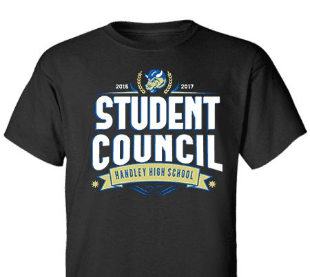 High School Impressions search SC-079-w; Custom Student Council T Shirts, - Create your own design for t-shirts, hoodies, sweatshirts. Choose your Text, Ink and Garment Colors.
