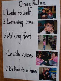 Learning and Teaching With Preschoolers: Classroom Rules  When I taught school, my #1 rule was always The Golden Rule!