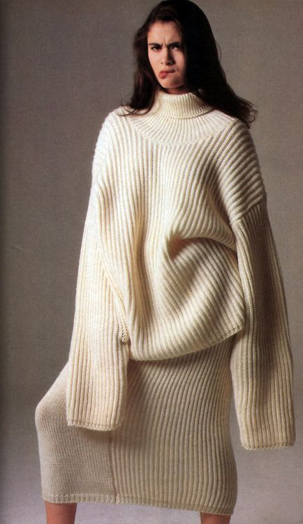 Charlotte Lewis, featured in American Vogue, September 1986. Photograph by Denis Piel.