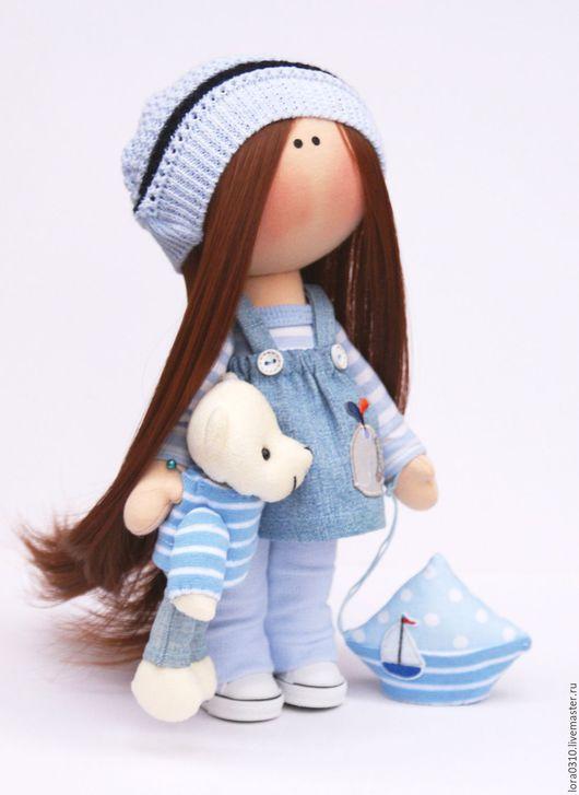 Muñecas De Colección: hechos a mano. aleta de Sonia. Larisa Fominich. Maestros justas. muñeca interior del interior, el tema marino, jersey