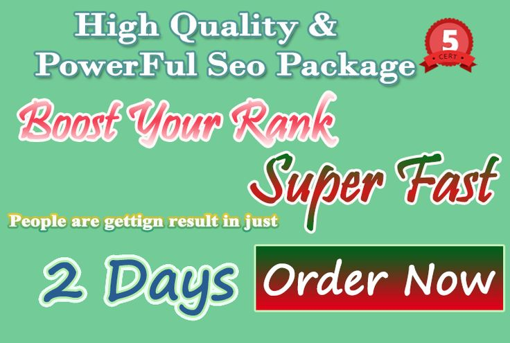 """FINALLY, YOU CAN NOW GET THE BEST AND THE SAFEST SEO PACKAGES AVAILABLE RIGHT NOW!"" ONLY WHITE HAT SEO - 100% Manual -Complete report on completion Now Your Backlink Provider search is over ..We have been providing SEO services for the past 3 years. And we help Many of our client rank in search engine in just 2 days .. PERMANENT BACKLINKS THAT WILL RANKS YOU FAST! *** Level 5 Seller on PPH *** ** 99% Customer Satisfaction rating ** * 5 Star reviews consistently * *** What i... on…"