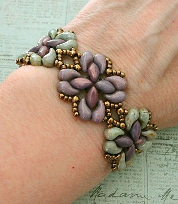 Linda's Crafty Inspirations: Playing with my beads...ZoliDuo beads