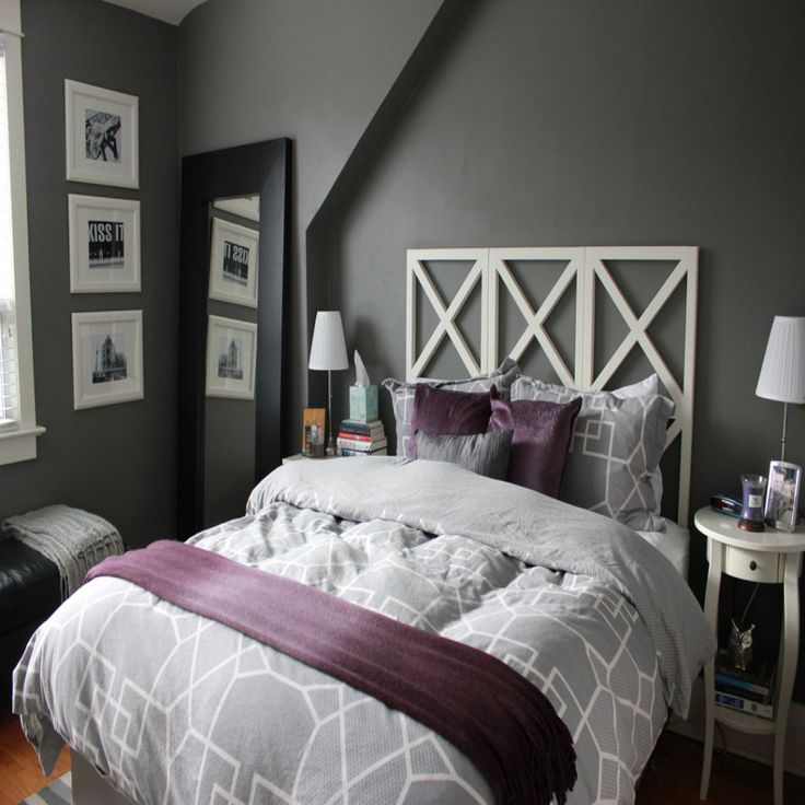 Grey Bedroom Decor Pinterest: Best 25+ Purple Grey Bedrooms Ideas On Pinterest