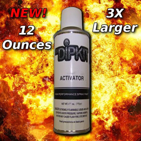 Hydrographics Activator Water Transfer Printing Film Hydro Dipping Dip Kit 12 ou #MyDipKitHydrographics