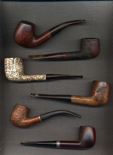 `Vintage Smoking Pipes - Daddy smoked one for a time.  Usually left sitting on the mantel.