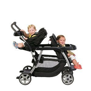 Graco Ready2Grow Classic Connect LX Stroller, Metropolis | Cheap Baby Strollers