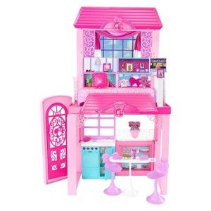 Cute Barbie Life in the Dreamhouse Grocery Store and Doll Playset