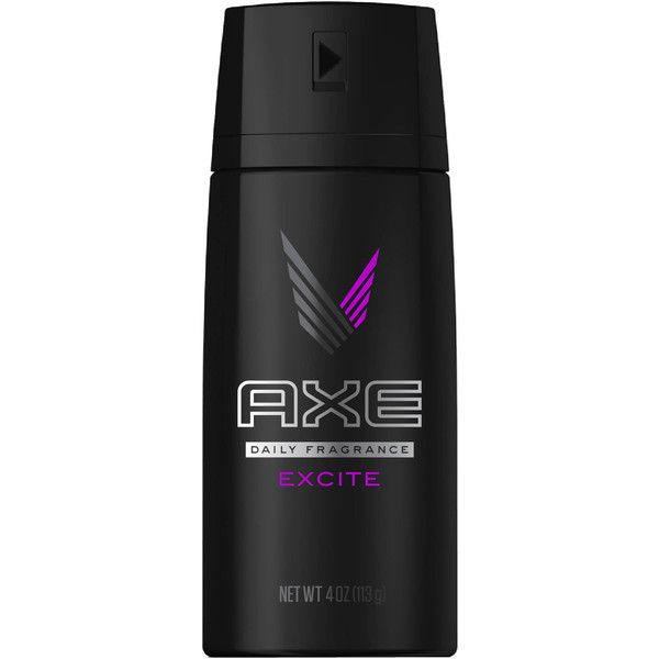 AXE Excite Body Spray for Men, 4 oz Walmart.com ($4.87) ❤ liked on Polyvore featuring men's fashion and men's grooming