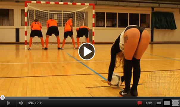 "This football team in Belgium have given literally ""your ass"". VIDEO"