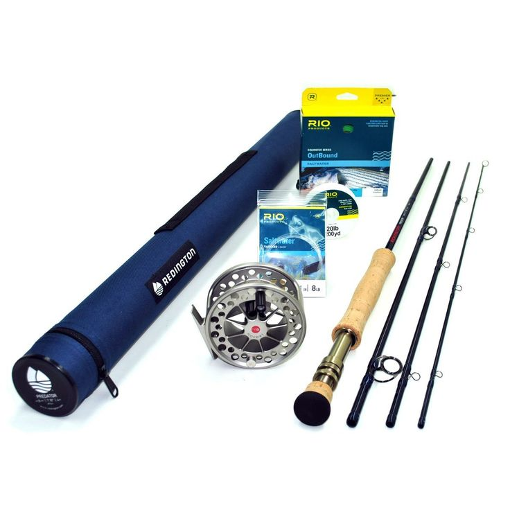 Redington Predator 890-4 Fly Rod Outfit (8wt, 9'0' 4pc) >>> Read more  at the image link.