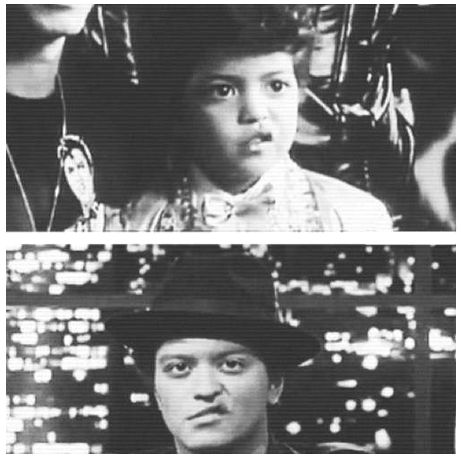 Bruno Mars! Love that lip curl!❤❤❤then and even more now !