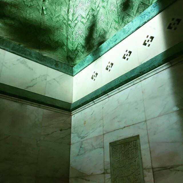 Inside the kabah 8 # Mecca  This is corner where the Rukn al Yamini is located  on the outside.
