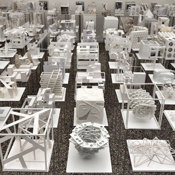 ven more architecture student models (total of 500) at Hungarian Pavilion.