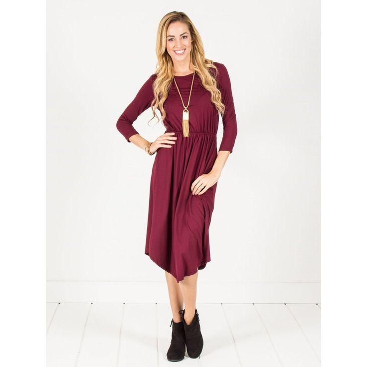 Pocket Midi Dress