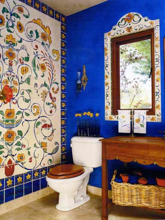 Room: Bathroom, Eclectic Room By Baier Design ~ Juli Baier, And Painted By  Magpie Painting!
