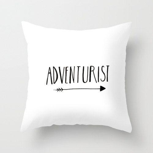 Tipografía ilustrado minimalista blanco y negro decoración para el hogar almohada cubierta decorativos almohada casa acento blanco accesorio...