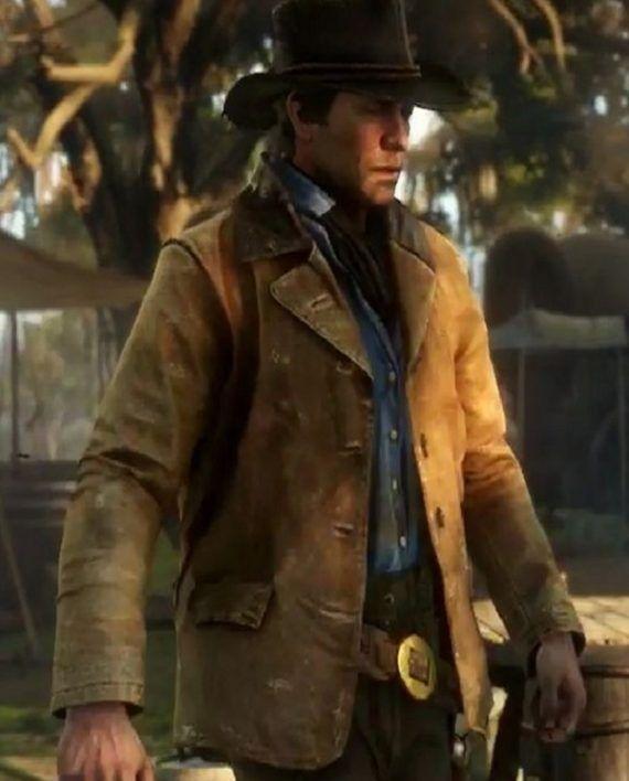 Arthur Morgan Game Jacket