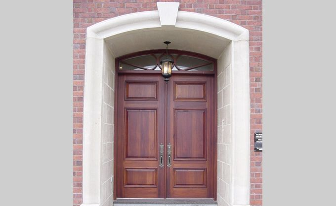 Wood Front door . NO PEELING | NO CRACKING | NO WARPING | NO DRAFTS