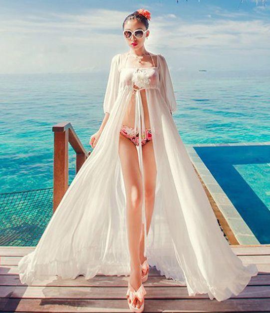 Die besten 17 Ideen zu Bikini Wrap Dresses auf Pinterest | Patronen ...