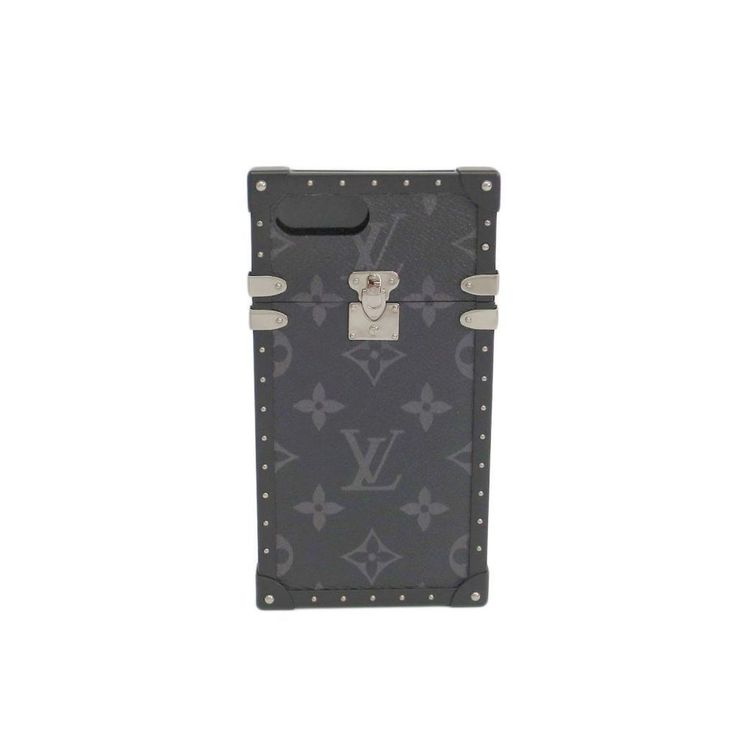 Louis #Vuitton Monogram Eclipse M64404 Eye-Trunk For iPhone 7 Plus  #eLADY global offers free shipping worldwide. For more pre-owned luxury brand items, visit http://global.elady.com