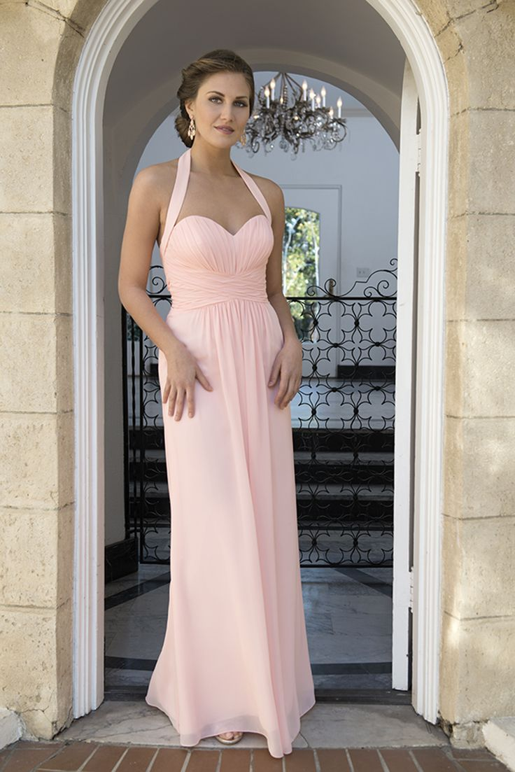 124 best bridesmaids images on pinterest bridesmaids venus and sweetheart neckline with a modified halter style rouched bodice with a long straight skirt fabric ombrellifo Gallery