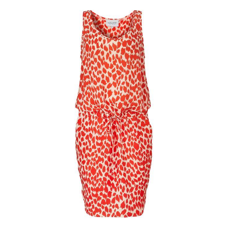 Luella dress - p/d leopard print
