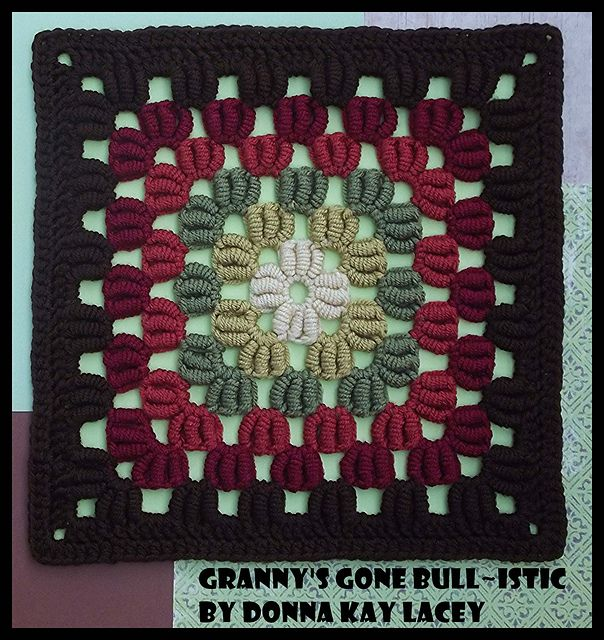 Granny's Gone Bull-istic by Donna Kay Lacey. This is totally fabulous.