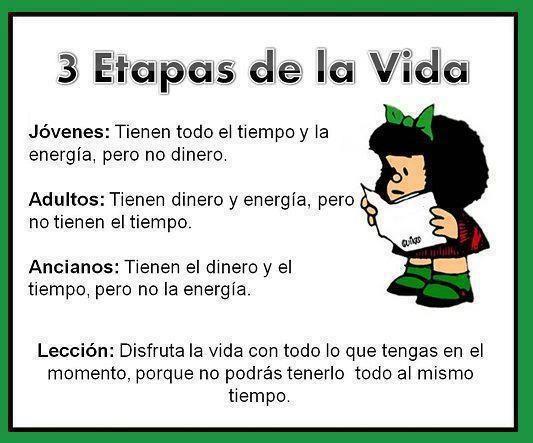 BIBLIOTECA IES ALBUJAIRA: Mafalda y la vida