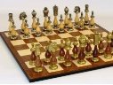 Luxury Chess Sets metal and wood #luxurychess