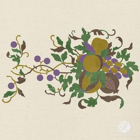 Элегантный и шикарный Праздничные украшения, используя настенные, Мебель, Крафт, ткань трафареты