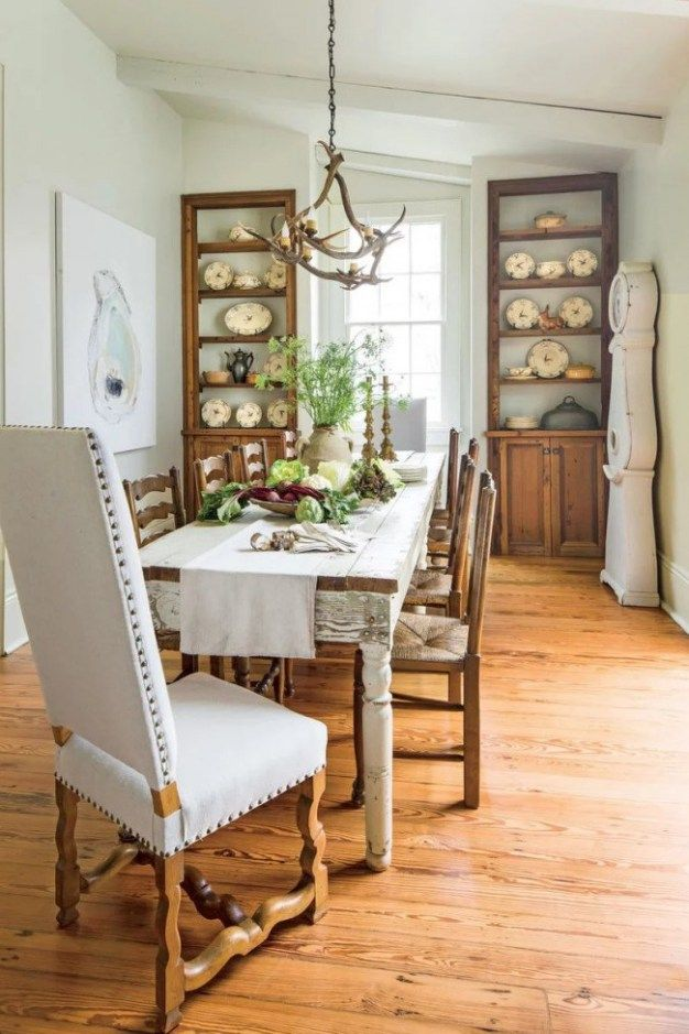 20 best farmhouse dining room decor and design ideas kitchen rh pinterest com