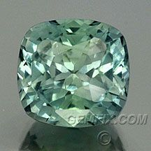 Minty green Montana sapphire