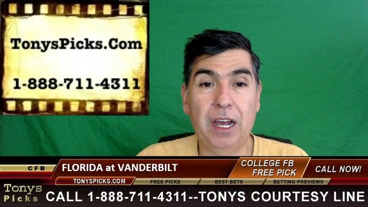 Florida Gators vs. Vanderbilt Commodores Pick Prediction College Footbal...