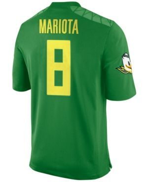 Nike Men's Marcus Mariota Oregon Ducks Player Game Jersey - Green XXL