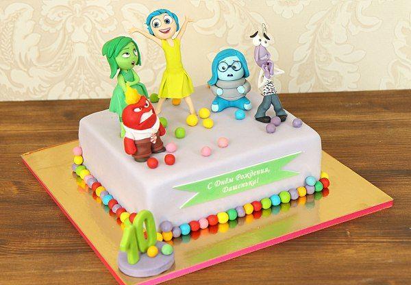 """http://abello.ru/netshop/cakes/children/catalogue-children-cakes_13492.html  Детский торт """"Головоломка""""  Доброе утро, друзья!  Сегодня у нас очень эмоциональный день, ведь мы расскажем и покажем вам ваших любимых героев из полюбившегося не только детям, но и взрослым мультфильма #Головоломка. Это хороший, добрый мультфильм раскрывает аспекты становления личности, познавания мира, взаимодействия с окружением и сопровождающие эти процессы эмоции. Радость, Брезгливость, Гнев, Печаль, Страх…"""