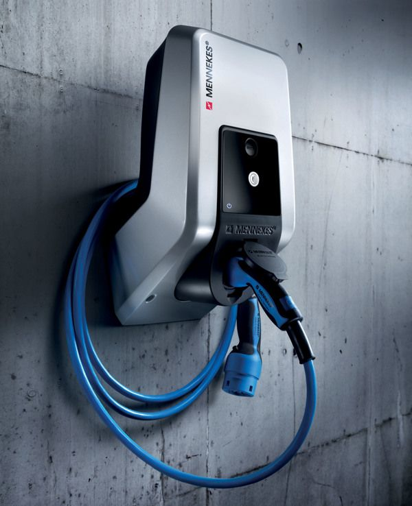 Mennekes - Home Charging Station by Pierre FRANCOZ, via Behance