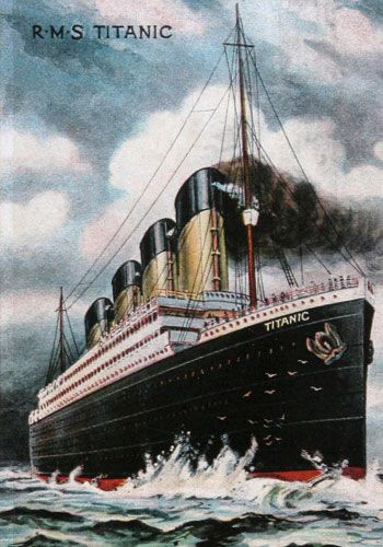 The  Titanic  in  pictures. Today is the 100th Anniversary of the sinking of Titanic. A great ship remembered