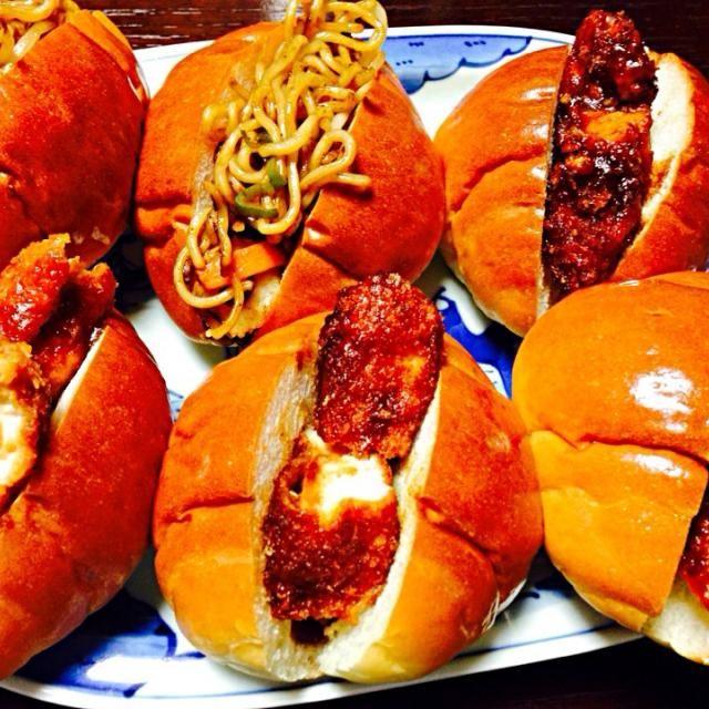 作り方は、味噌カツのソースのレシピです。 - 16件のもぐもぐ - やきそばパンと味噌カツサンド by Mitsuko Ogaki