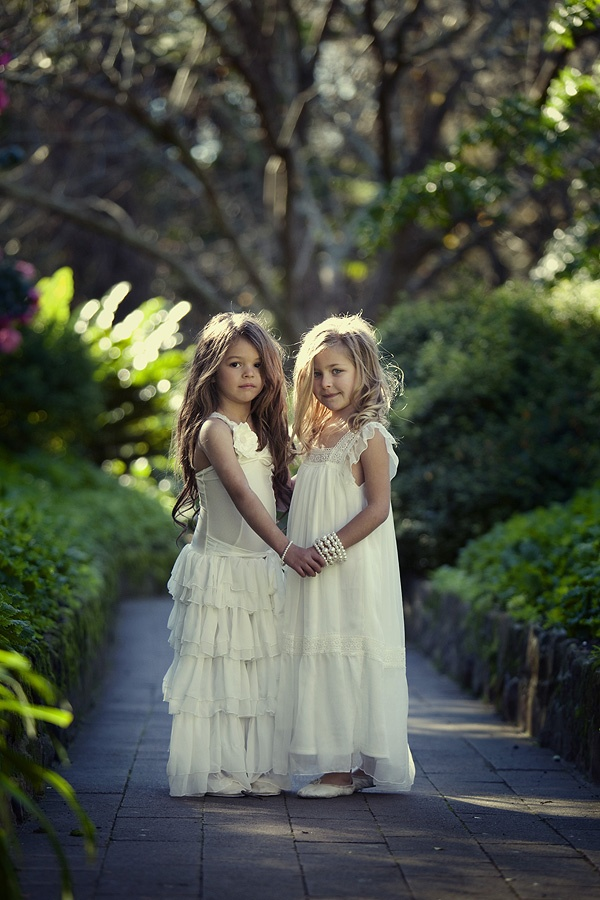 Flowergirl dresses from Tea Princess... love everything on that website: