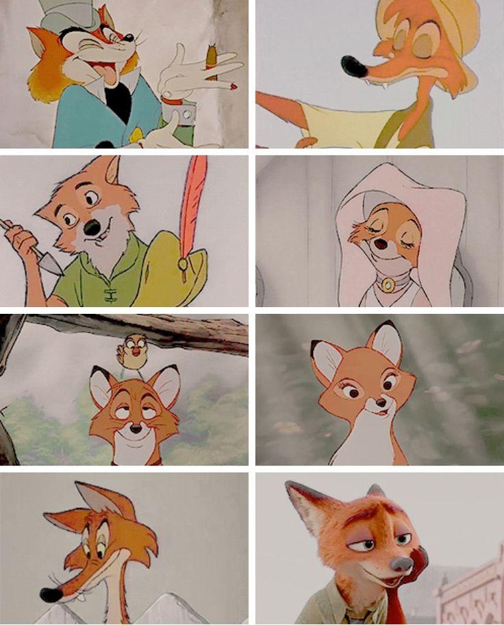 Disney Foxes (1940 - 2016)