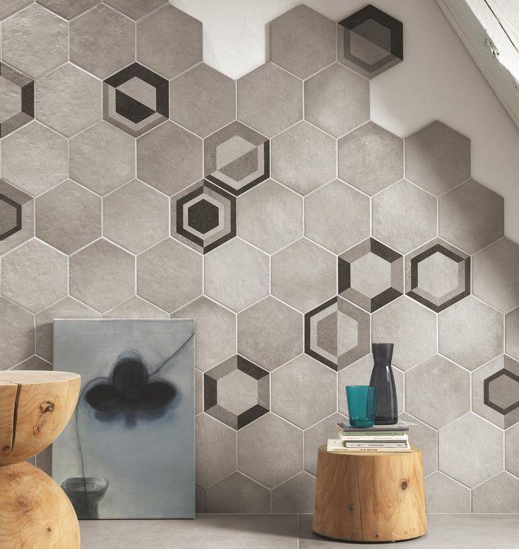 Discontinued Ragno Tile: Ragno Rewind Decoro Geometrico Vanilla 21x18,2 Cm R4DT