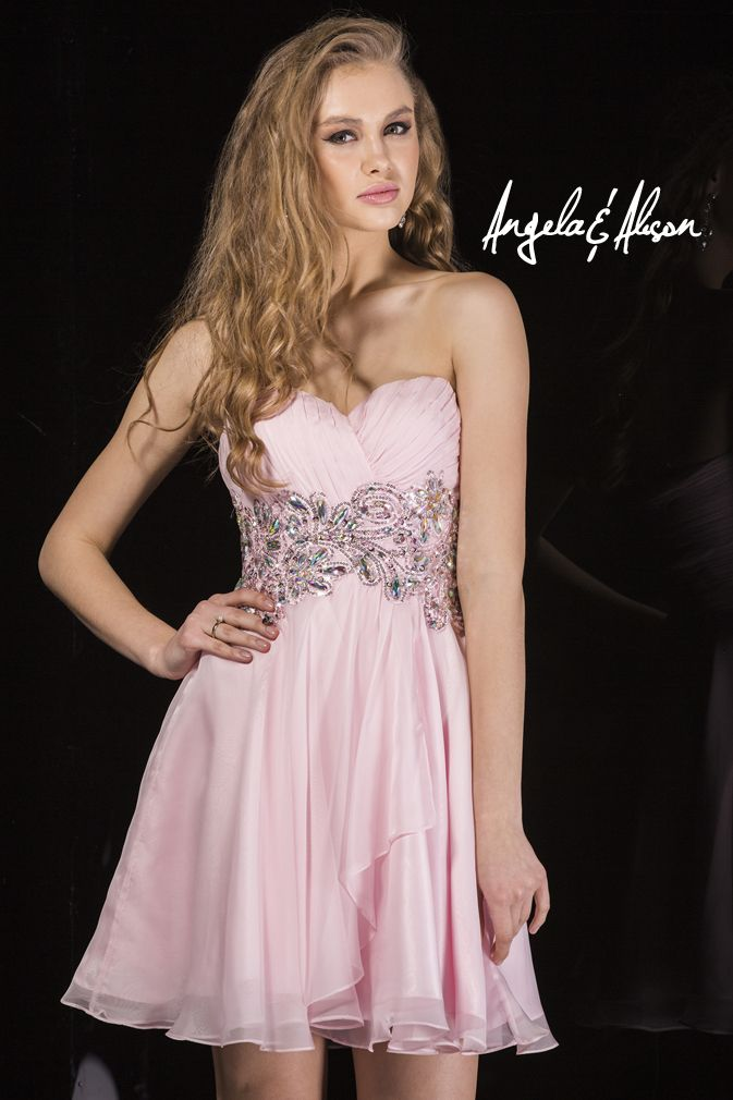 Style 42006 sweetheart neckline with beaded and lace empire waist detailing. Perfect for Prom, Homecoming, Gala, Wedding, Formal, Graduation, Ball... etc.