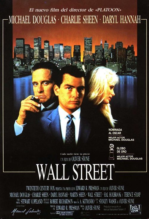 Wall Street, Movie Poster