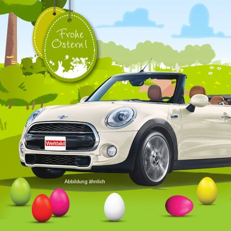 Tolles Oster-Gewinnspiel! Finde die Eier gewinne tolle Preise z.B. ein MINI Cabrio!