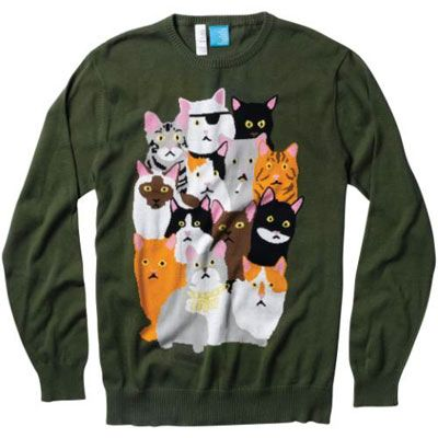 My clothes for future of being crazy cat lady.