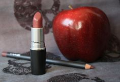 MAC Capricious lipstick and Plum lipliner: worn by Regina on Once Upon a Time