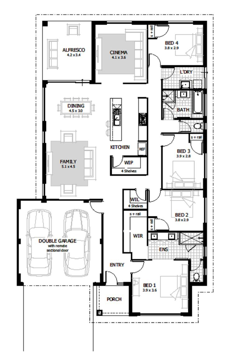 159 besten house plans bilder auf pinterest haus for Haus plan bilder